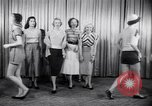 Image of models New York United States USA, 1951, second 4 stock footage video 65675034666