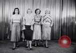 Image of models New York United States USA, 1951, second 5 stock footage video 65675034666