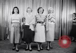 Image of models New York United States USA, 1951, second 6 stock footage video 65675034666