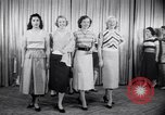 Image of models New York United States USA, 1951, second 7 stock footage video 65675034666