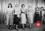 Image of models New York United States USA, 1951, second 8 stock footage video 65675034666