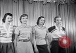 Image of models New York United States USA, 1951, second 11 stock footage video 65675034666