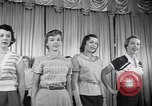 Image of models New York United States USA, 1951, second 12 stock footage video 65675034666