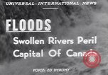 Image of floods Ottawa Ontario Canada, 1951, second 5 stock footage video 65675034667