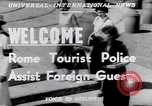 Image of Tourist Police Rome Italy, 1951, second 3 stock footage video 65675034668