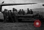 Image of B-26 bomber aircraft being armed Tunisia North Africa, 1943, second 1 stock footage video 65675034693