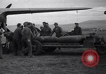 Image of B-26 bomber aircraft being armed Tunisia North Africa, 1943, second 4 stock footage video 65675034693