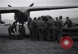 Image of B-26 bomber aircraft being armed Tunisia North Africa, 1943, second 9 stock footage video 65675034693