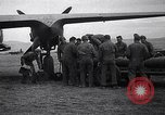 Image of B-26 bomber aircraft being armed Tunisia North Africa, 1943, second 10 stock footage video 65675034693
