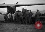 Image of B-26 bomber aircraft being armed Tunisia North Africa, 1943, second 12 stock footage video 65675034693