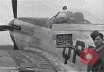 Image of Captain Shelton W  Monroe of 334th Fighter Squadron Debden England, 1945, second 1 stock footage video 65675034699