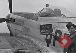 Image of Captain Shelton W  Monroe of 334th Fighter Squadron Debden England, 1945, second 4 stock footage video 65675034699