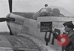 Image of Captain Shelton W  Monroe of 334th Fighter Squadron Debden England, 1945, second 7 stock footage video 65675034699