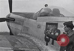 Image of Captain Shelton W  Monroe of 334th Fighter Squadron Debden England, 1945, second 8 stock footage video 65675034699