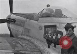 Image of Captain Shelton W  Monroe of 334th Fighter Squadron Debden England, 1945, second 9 stock footage video 65675034699