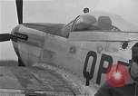 Image of Captain Shelton W  Monroe of 334th Fighter Squadron Debden England, 1945, second 10 stock footage video 65675034699