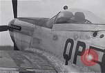 Image of Captain Shelton W  Monroe of 334th Fighter Squadron Debden England, 1945, second 11 stock footage video 65675034699