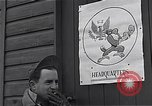 Image of Pilots of USAAF 4th fighter group finish briefing Debden England, 1945, second 5 stock footage video 65675034700