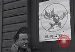 Image of Pilots of USAAF 4th fighter group finish briefing Debden England, 1945, second 8 stock footage video 65675034700