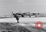 Image of P-5Bs of 28th Photo Reconnaissance Squadron Okinawa Ryukyu Islands, 1945, second 5 stock footage video 65675034702