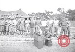 Image of U.S. Servicemen in Pacific War commemorate V-E Day  Okinawa Ryukyu Islands, 1945, second 1 stock footage video 65675034707