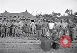 Image of U.S. Servicemen in Pacific War commemorate V-E Day  Okinawa Ryukyu Islands, 1945, second 4 stock footage video 65675034707
