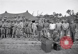 Image of U.S. Servicemen in Pacific War commemorate V-E Day  Okinawa Ryukyu Islands, 1945, second 5 stock footage video 65675034707