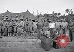 Image of U.S. Servicemen in Pacific War commemorate V-E Day  Okinawa Ryukyu Islands, 1945, second 6 stock footage video 65675034707