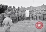 Image of U.S. Servicemen in Pacific War commemorate V-E Day  Okinawa Ryukyu Islands, 1945, second 7 stock footage video 65675034707