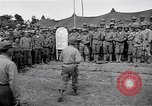 Image of U.S. Servicemen in Pacific War commemorate V-E Day  Okinawa Ryukyu Islands, 1945, second 9 stock footage video 65675034707