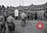 Image of U.S. Servicemen in Pacific War commemorate V-E Day  Okinawa Ryukyu Islands, 1945, second 10 stock footage video 65675034707