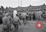 Image of U.S. Servicemen in Pacific War commemorate V-E Day  Okinawa Ryukyu Islands, 1945, second 11 stock footage video 65675034707