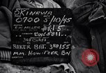 Image of 155mm howitzer Okinawa Ryukyu Islands, 1945, second 11 stock footage video 65675034735