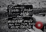 Image of bombardment Okinawa Ryukyu Islands, 1945, second 2 stock footage video 65675034736
