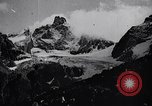 Image of German Mountain troops Dalar Baschi Peak Caucasia, 1942, second 10 stock footage video 65675034747
