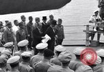Image of surrender ceremony Tokyo Bay Japan, 1945, second 1 stock footage video 65675034757