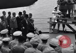 Image of surrender ceremony Tokyo Bay Japan, 1945, second 2 stock footage video 65675034757