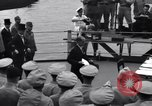 Image of surrender ceremony Tokyo Bay Japan, 1945, second 3 stock footage video 65675034757