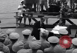 Image of surrender ceremony Tokyo Bay Japan, 1945, second 4 stock footage video 65675034757