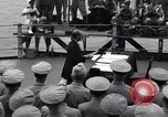 Image of surrender ceremony Tokyo Bay Japan, 1945, second 5 stock footage video 65675034757
