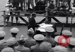 Image of surrender ceremony Tokyo Bay Japan, 1945, second 6 stock footage video 65675034757