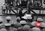 Image of surrender ceremony Tokyo Bay Japan, 1945, second 7 stock footage video 65675034757