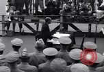 Image of surrender ceremony Tokyo Bay Japan, 1945, second 8 stock footage video 65675034757