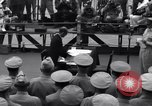Image of surrender ceremony Tokyo Bay Japan, 1945, second 10 stock footage video 65675034757