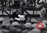 Image of surrender ceremony Tokyo Bay Japan, 1945, second 12 stock footage video 65675034757