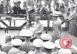 Image of surrender ceremony Tokyo Bay Japan, 1945, second 1 stock footage video 65675034758