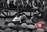 Image of surrender ceremony Tokyo Bay Japan, 1945, second 2 stock footage video 65675034758