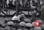 Image of surrender ceremony Tokyo Bay Japan, 1945, second 3 stock footage video 65675034758