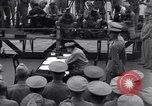 Image of surrender ceremony Tokyo Bay Japan, 1945, second 4 stock footage video 65675034758