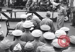 Image of surrender ceremony Tokyo Bay Japan, 1945, second 10 stock footage video 65675034758